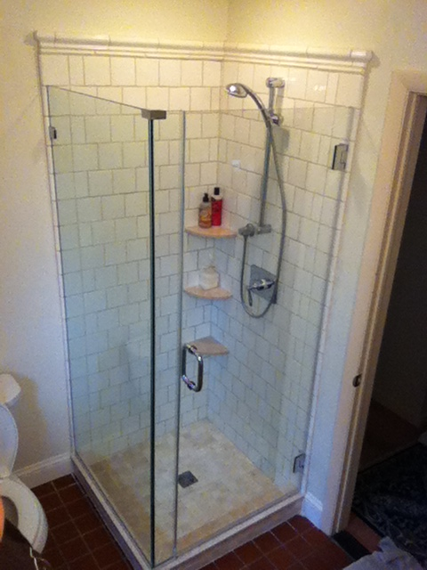 Frameless Shower Surround